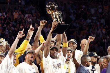 NBA čempionais vėl tapo Los Andželo