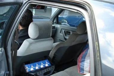 Klaipėdietė kontrabandą sudėjo į brolio mašiną