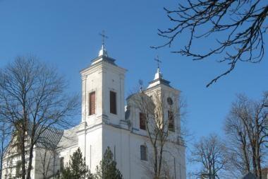 Skuodo r. apvogta bažnyčios aukų dėžutė