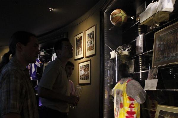 Š.Marčiulionio atidarytame bare rinkosi sporto elitas