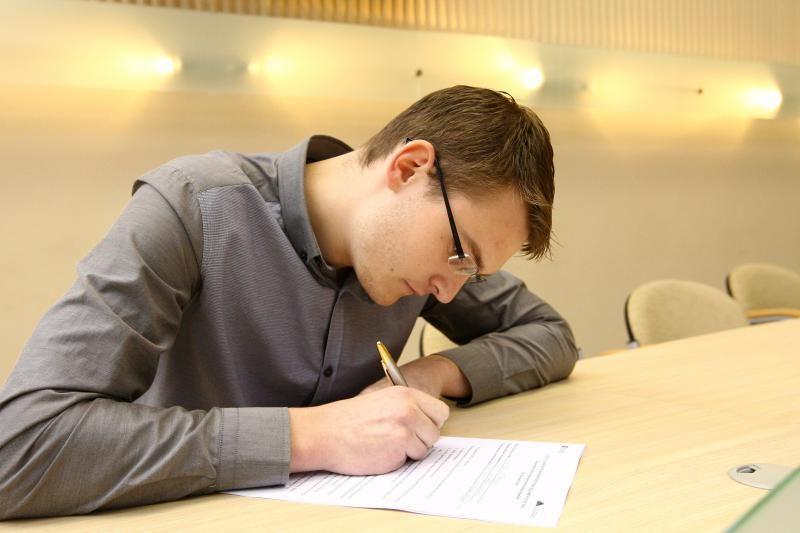 Antrąjį Konstitucijos egzamino išbandymą išlaikė visi kauniečiai