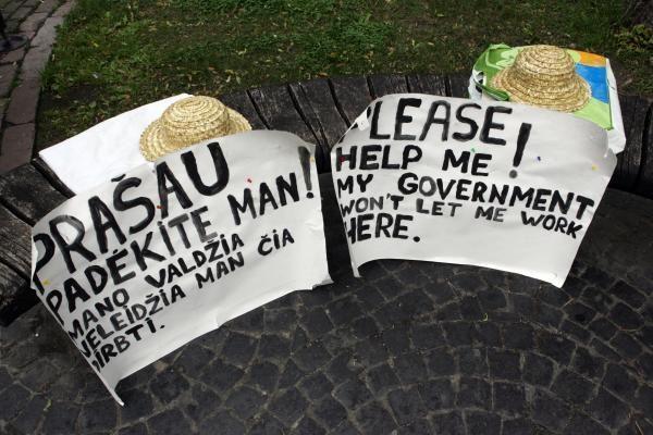 Pilies gatvės prekybininkai: savivaldybė mus apvogė