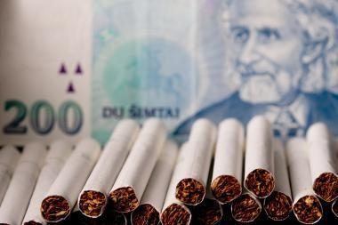Muitininkai sulaikė cigarečių kontrabandos už 11 tūkst. litų