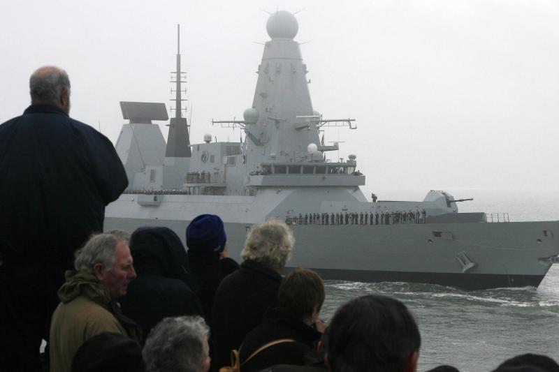 """Britai į Persijos įlanką išsiuntė """"nematomą"""" karo laivą"""