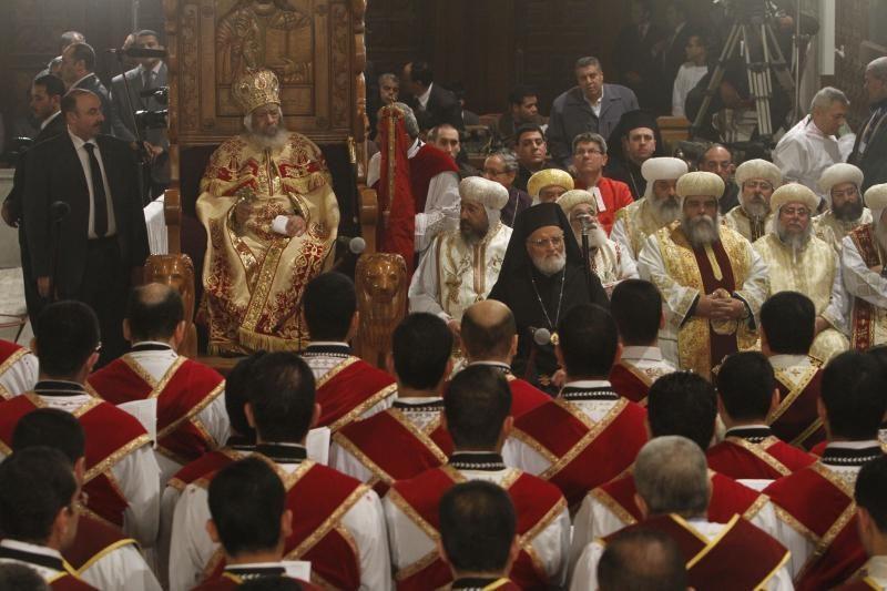 Egipto koptai švenčia Kalėdas sugriežtinus saugumo priemones
