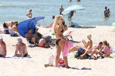 Paplūdimyje – patarimai apie saugų poilsį