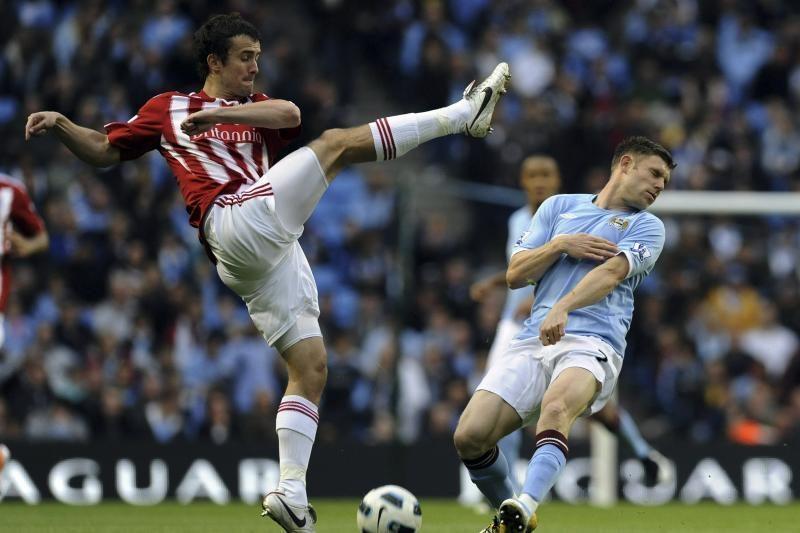 """Manchester City"" kyla į trečią vietą"