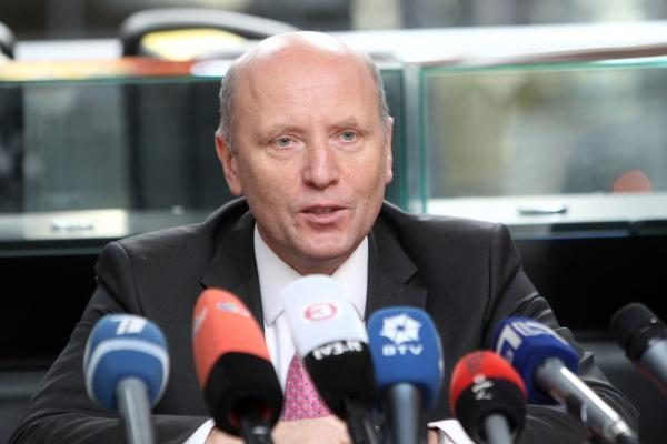 R.Palaitis įsakymą dėl  FNTT vadovu žada pasirašyti ketvirtadienį