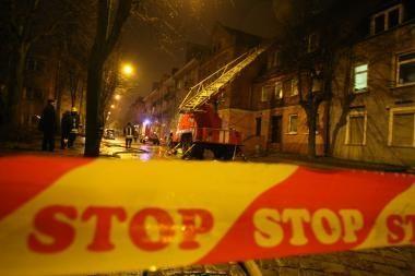 Kaune per gaisrą žuvo vyras