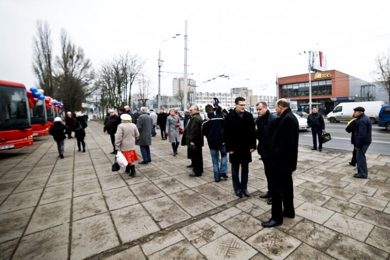 Kauno rajono gyventojai persės į naujus autobusus