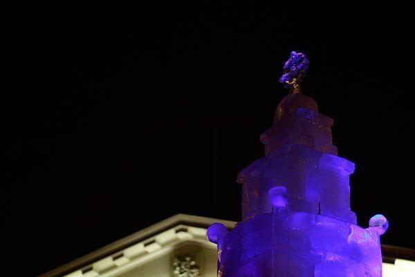 Ledinis miestas atkėlė vartus (video)