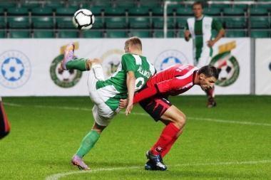 Marijampolės futbolininkai pralaimėjo Taline