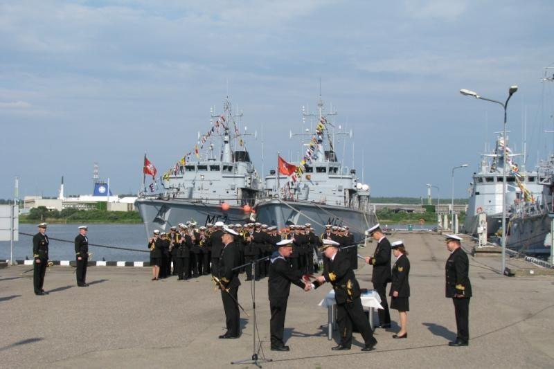 Klaipėdoje Karinės jūrų pajėgos minėjo atkūrimo dieną