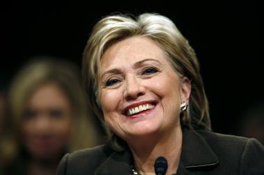 H.Clinton tikisi, kad pavyks ratifikuoti sutartį su Rusija dėl branduolinės ginkluotės