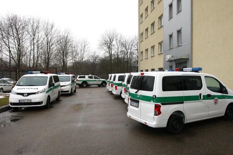 Kauno gatvėmis policija patruliuos naujais automobiliais