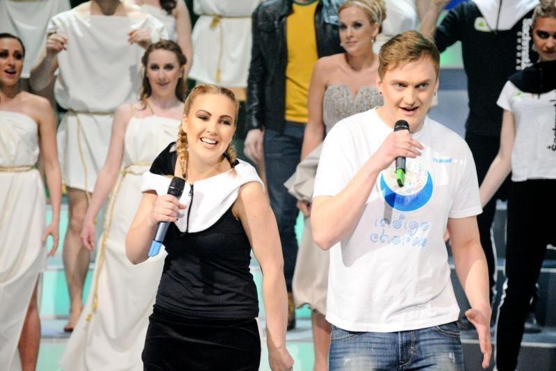 """Vytautas Šapranauskas ir vėl nepasirodė """"Chorų karų"""" transliacijoje"""
