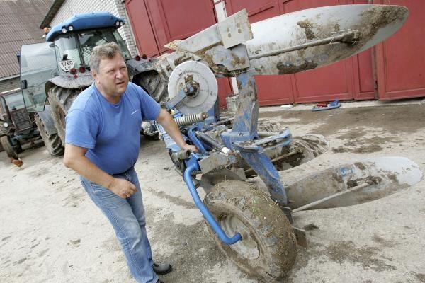Žemės ūkio ministras atsisakė jo ūkiui skirtos ES paramos