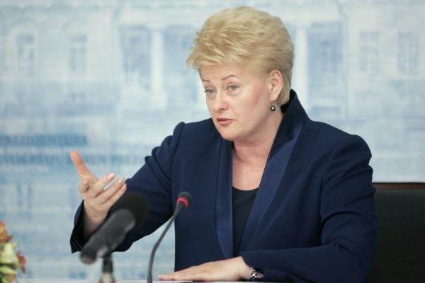 Prezidentė dėl kainų kilimo kritikuoja Konkurencijos tarybą