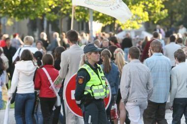 Klaipėdos pareigūnai rūpinsis mokinių gerove ir saugumu