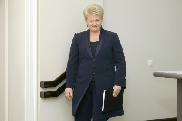 D.Grybauskaitė: