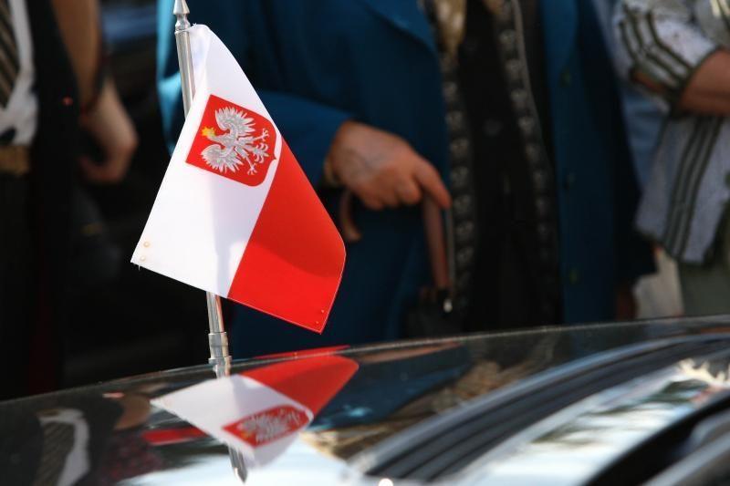 Lenkų rinkimų akcijos narys nubaustas už nesankcionuotą mitingą