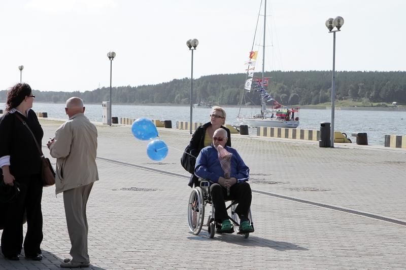 """Burlaiviai """"Brabander"""" ir """"Lietuva"""" sugrįžo į Klaipėdą"""