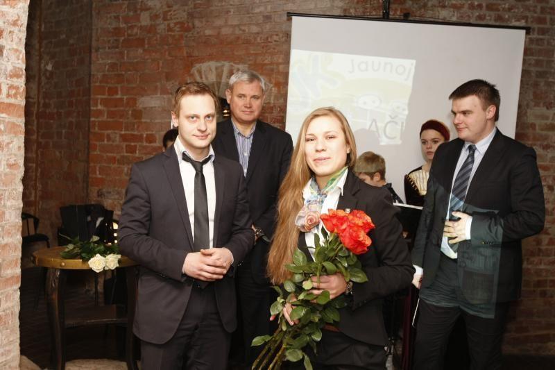 Iniciatyviam Klaipėdos jaunimui įteikti apdovanojimai