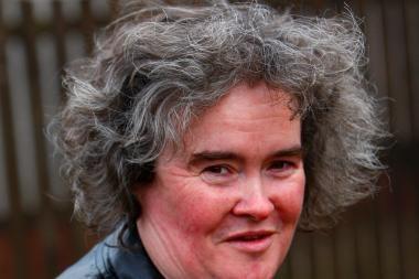 Britų sensacija Susan Boyle dėl išsekimo atsidūrė ligoninėje