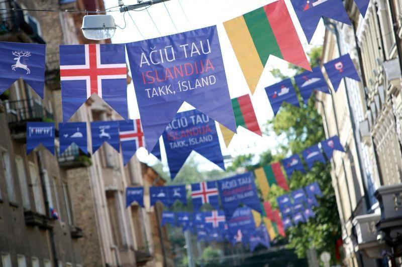 Sostinėje vyksta turininga padėkos Islandijai šventė