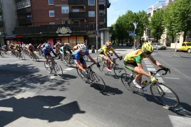 """Klaipėdoje – dviratininkų lenktynės """"Auksinės kopos"""""""
