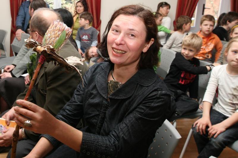 Vaikų kultūros savaitę Klaipėdoje – knygų paroda ir rašytojos dovana