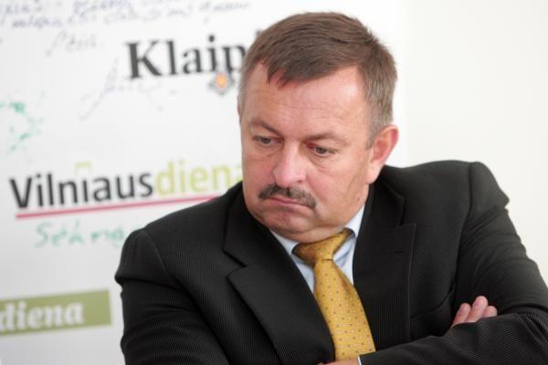 V.Navickas žada atsistatydinti, kai bus nuspręsta dėl naujo Vilniaus mero