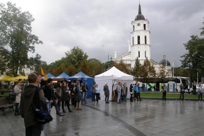 Vilniaus centre – koncertai po atviru dangumi