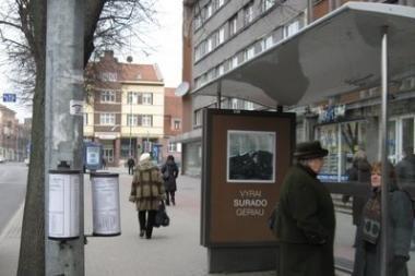 Klaipėdoje - unikalios lauko reklamos projektas