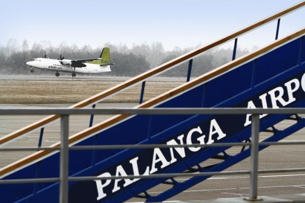 Atšaukė skrydžius iš Ronebio į Palangą ir iš Palangos į Stokholmą