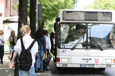 Klaipėdos autobusuose sulaikoma mažiau zuikių
