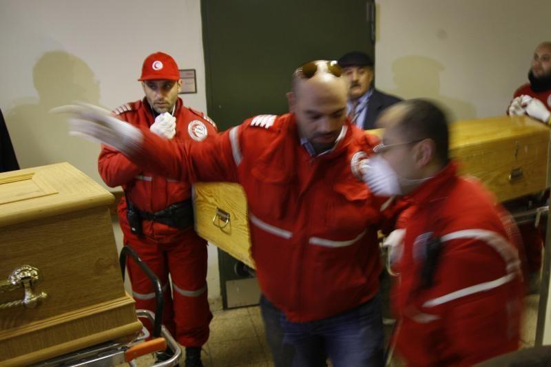Sirijoje žuvusių žurnalistų palaikai perduoti ambasadoms (papildyta)