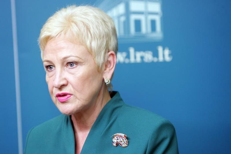 I.Degutienė palaiko premjerą dėl FNTT pareigūnų