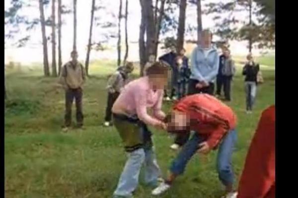 Paauglių pramogos Ukmergėje: mergaičių muštynes skatino pusšimtis stebėtojų