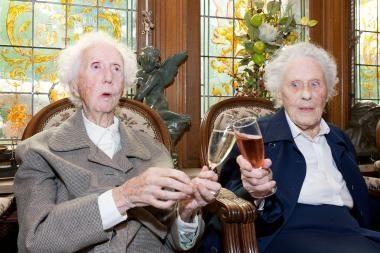 Seniausiems žinomiems pasaulio dvyniams suėjo 100 metų