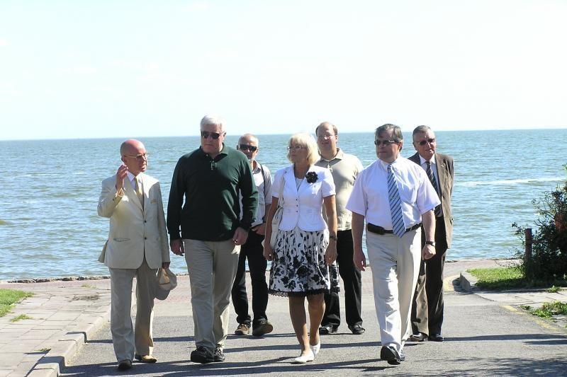 Gruzijos ir Lietuvos sveikatos ministrai apsilankė Neringoje