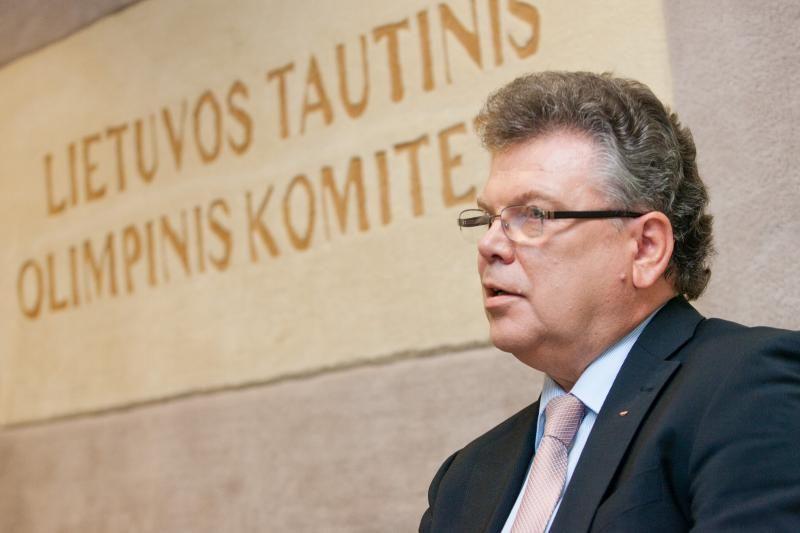A.Poviliūnas: tikiuosi, kad Londone varžysis daugiau nei 60 lietuvių