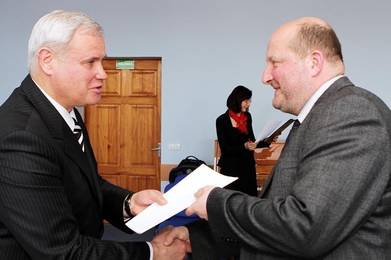 Profesinės šventės išvakarėse pagerbti Klaipėdos medikai