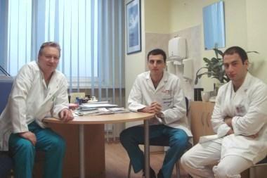 Jauni Gruzijos medikai žinių semiasi Klaipėdoje