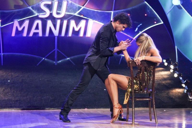 """""""Šok su manimi"""" finale triumfavo D.Vaitiekūnas ir J.Žemaitytė"""