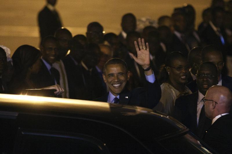 JAV prezidentas Obama pradėjo kelionę po Afrikos šalis