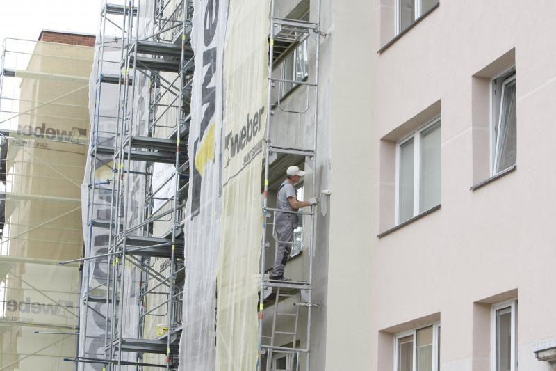 Renovacijos kaina daugiabučių gyventojų neišgąsdino