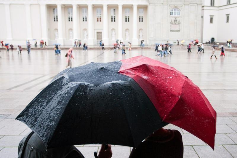Savaitgalis bus gana vėsus, neišvengsime kritulių