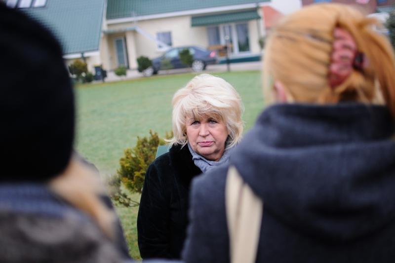 A.Skučienei įtarimai dėl pasipriešinimo policijai bus pareikšti namie