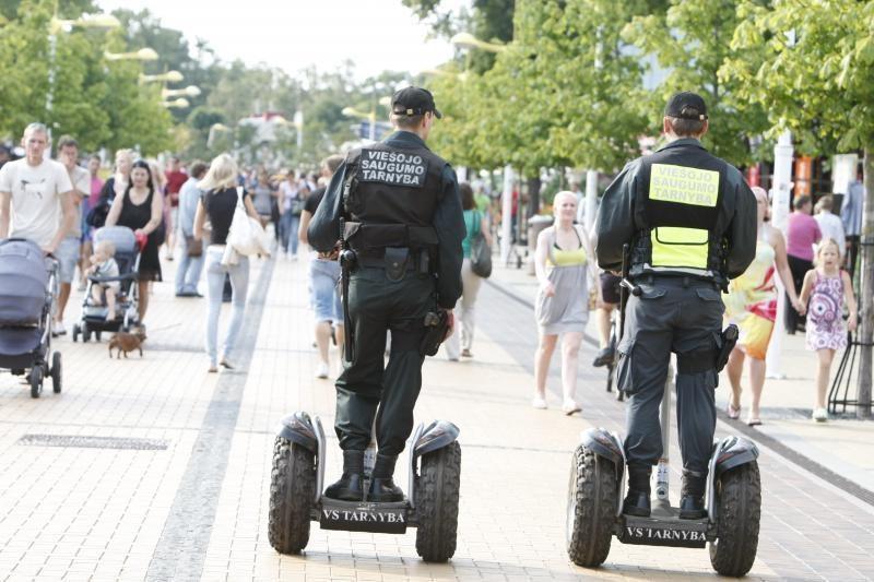 Policija: Palangoje vagims ramybės nebebus